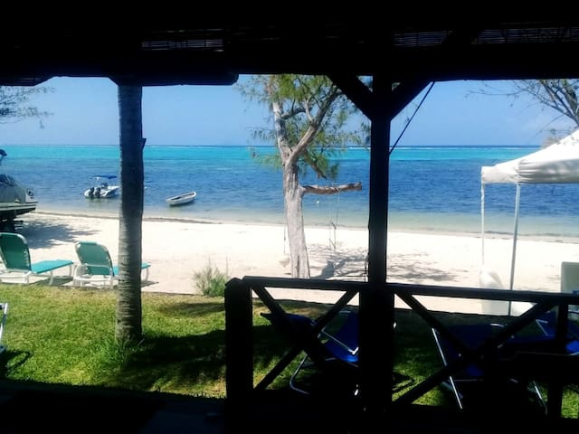 Blue Beach Villa on secluded private beach