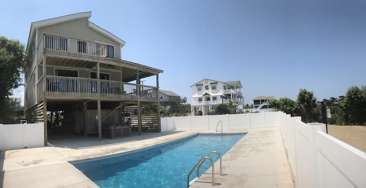 Ocean View -Heated Pool, Hot Tub, Steps From Beach