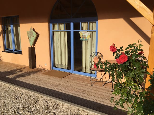 Eingang Gästehaus Michelangelo