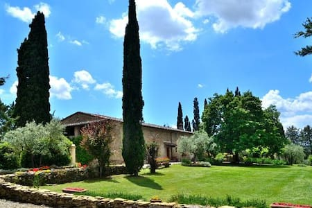 Tuscan Villa & swimming pool - up to max 16 guests - Arezzo - Villa
