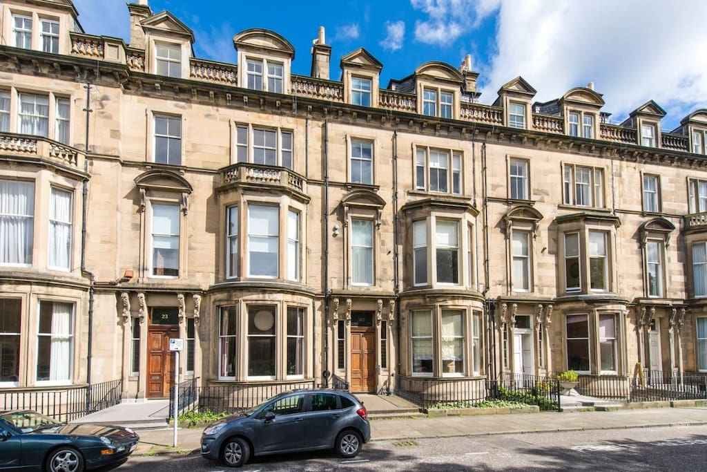 The edinburgh drawing room luxury apartment flats for for 16 learmonth terrace
