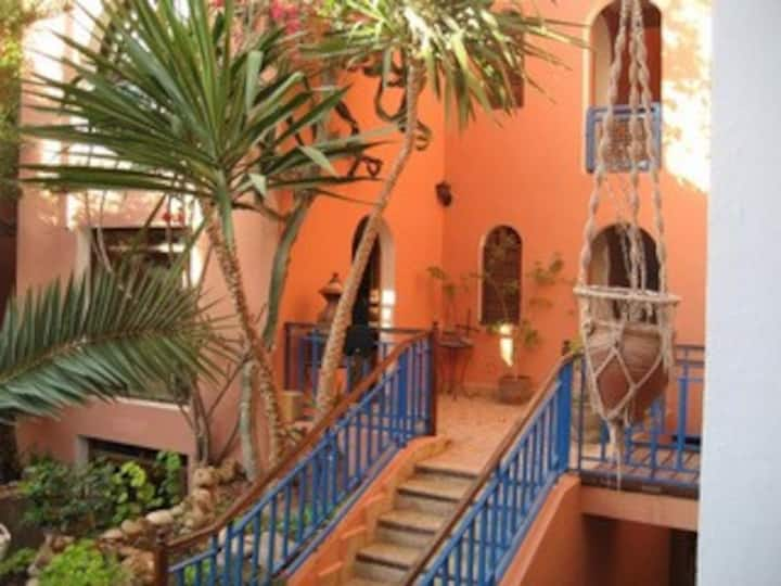 Triple room at the traditional riad imourane