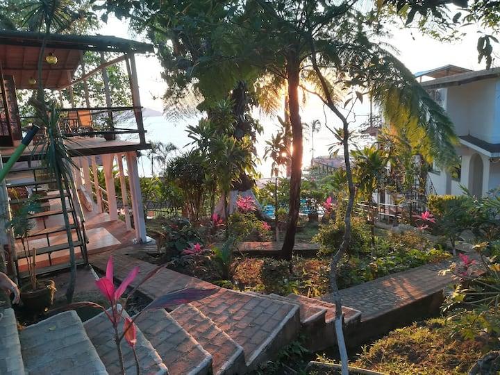 Habitación con vista al hermoso lago Catemaco H#5