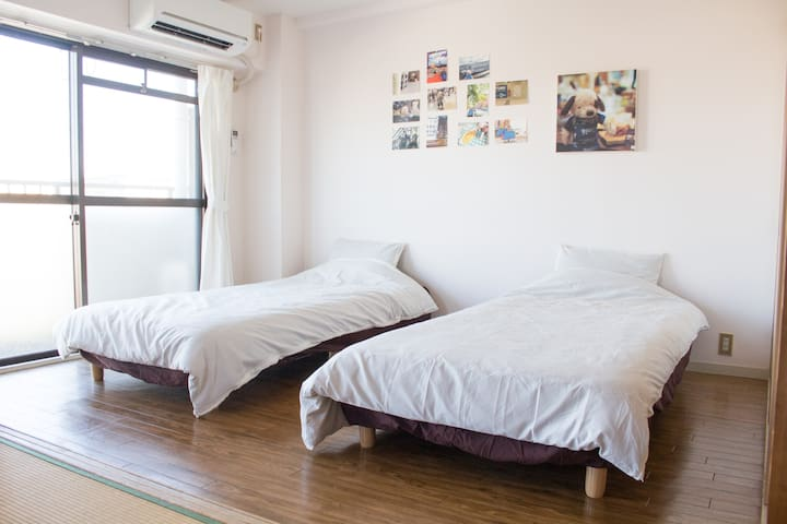 【3DK Max 7 guests】With Parking / 15min from center - 名古屋市 - Apartamento
