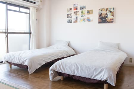 【3DK Max 7 guests】With Parking / 15min from center - 名古屋市