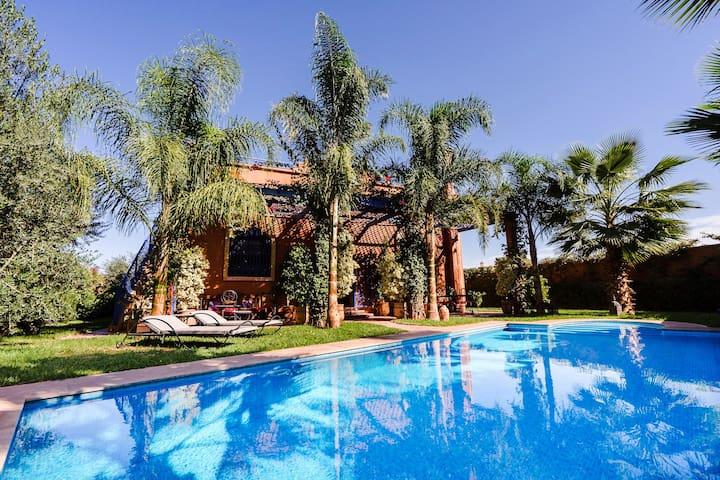 "Villa avec piscine ""Dar Yamna"""