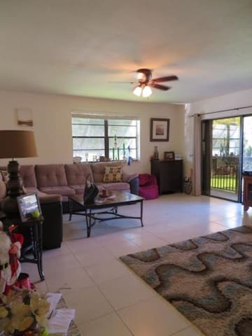Spacious 2 bedroom condo near Dadeland - Miami - Apartment