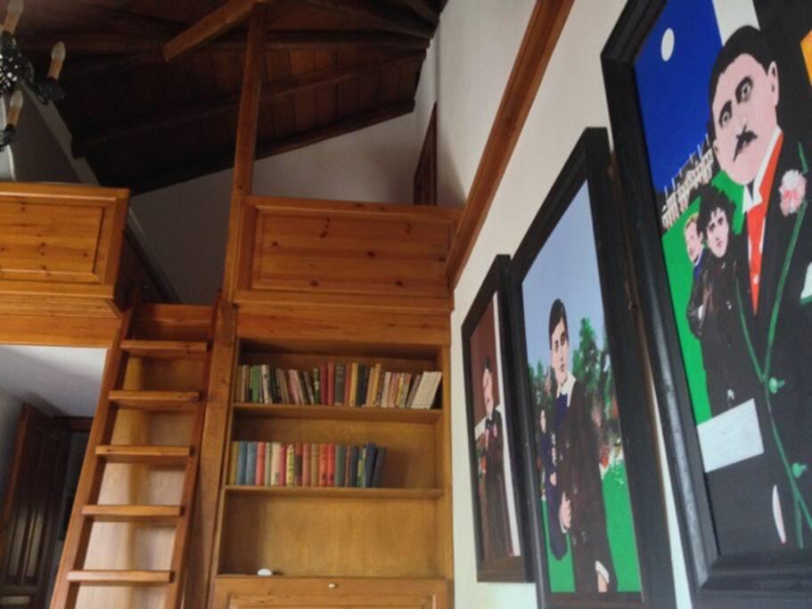 Bedroom 1-mezzanine with 2 beds