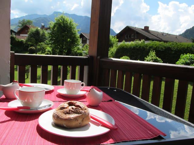 Urlaub mit Bergblick - Bad Hindelang - Apartment