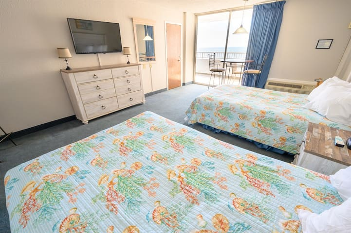 ⭐Sands Beach Club High Floor Direct Ocean View Getaway
