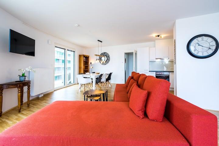 Green Living Wohnung IX mit Terrasse und Seeblick