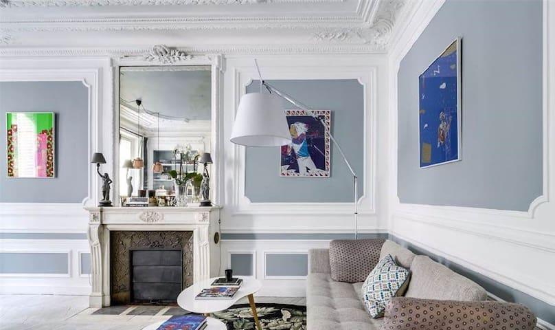 3 Chambres Appartement, Très Bien Situé - Paris - Flat