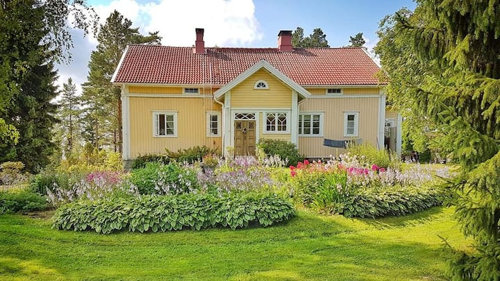 Unique relaxing Villa Hauska for 2 person
