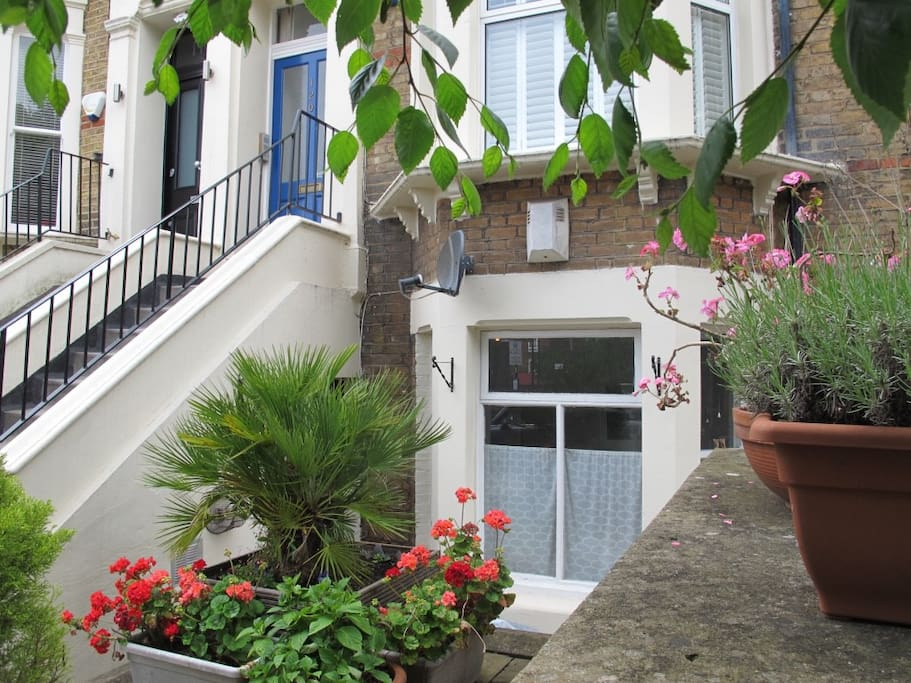 Entrance and front garden