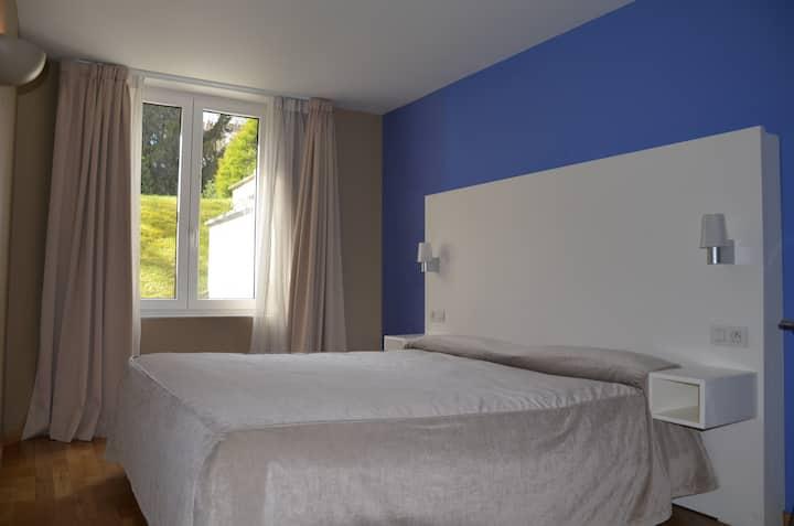 Beautiful flat with private terrace in EU Quarter