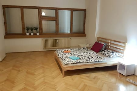 Next to Economical University, WiFi, AirBnB - Prague