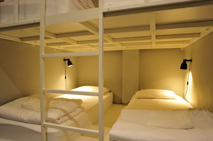 Bedroom 1 on the 3rd floor - two bunk beds