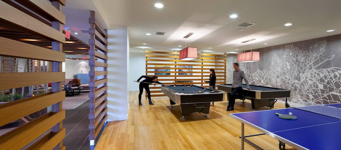 Table Tennis - Pool Tables - Reservation Required* (No Charge)