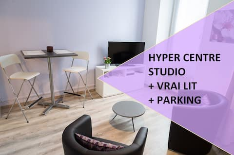 STUDIO COSY EN HYPER CENTRE +PARKING