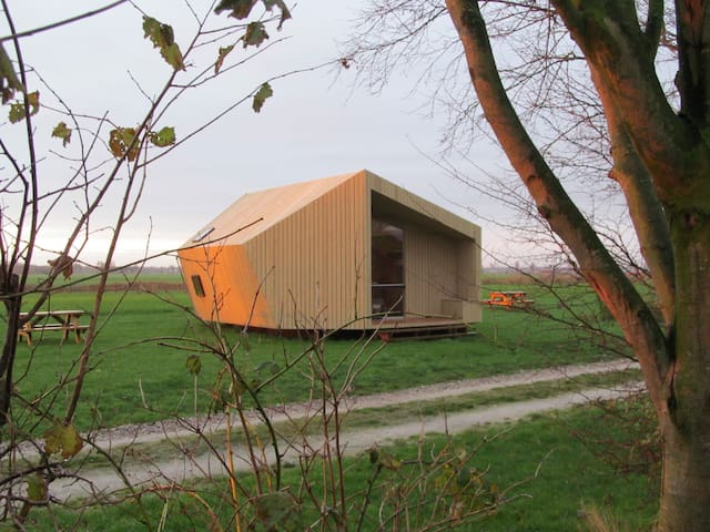 Ecolodge near the Wadden Sea