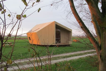 Ecolodge near the Wadden Sea - Kollumerpomp - 自然小屋
