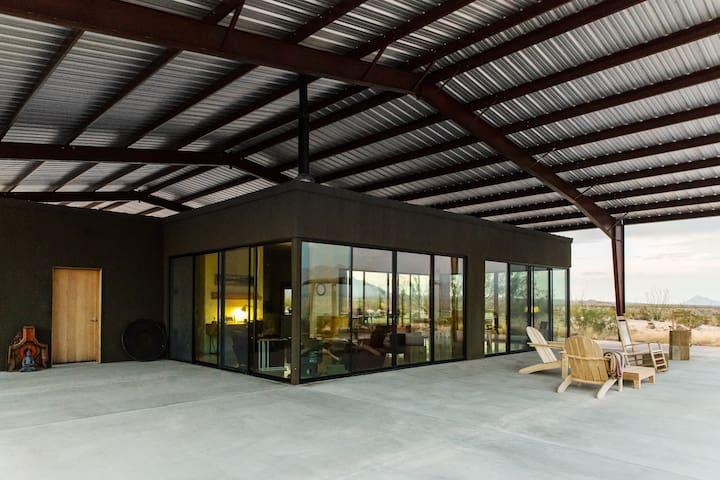 Modern Solar Home South of Marfa