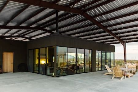 Modern Solar Home South of Marfa
