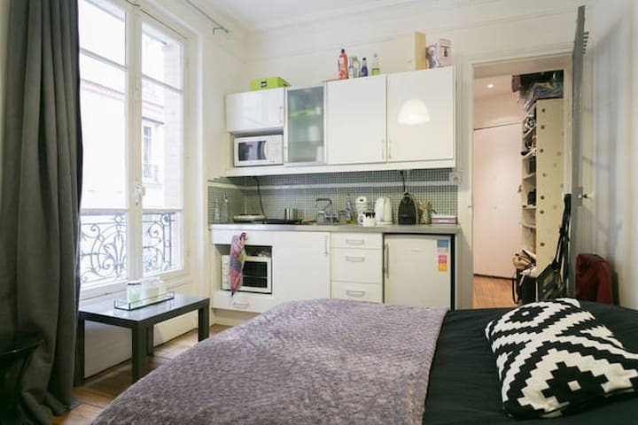 Studio charmant au cœur du 13e arrondissement
