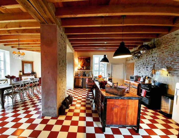 La Motte 10, maison de campagne en Auvergne