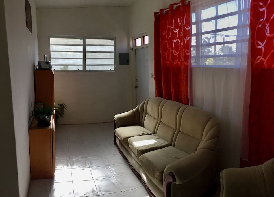 Front Door/Living Room