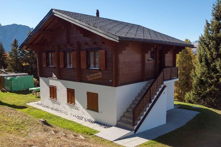 Maison de vacances paisible près des pistes à Rosswald