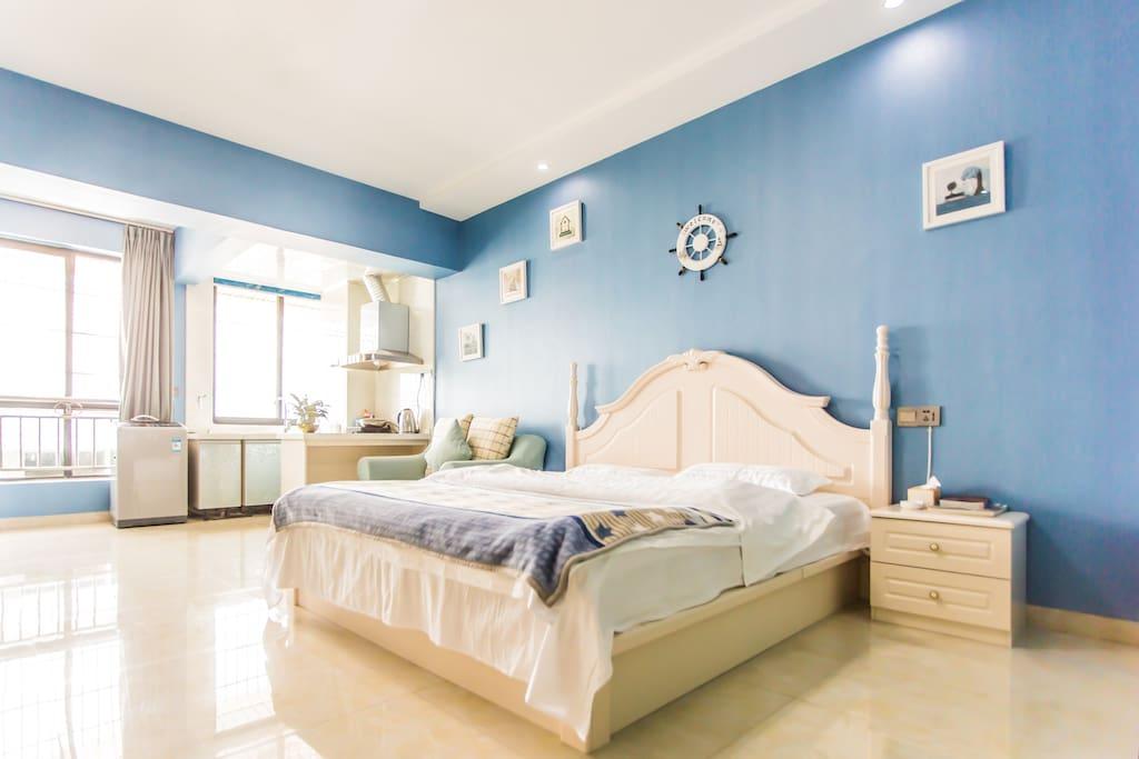 地中海大床房1,8米床