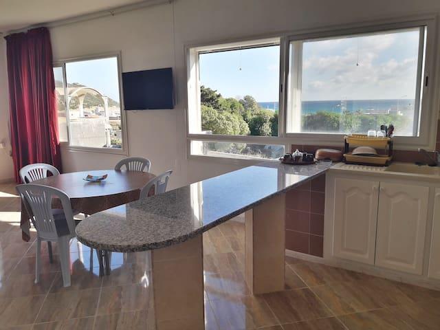 Etage de villa, S+3, vue sur mer et montagne