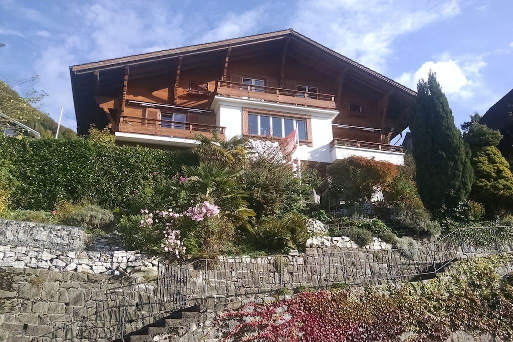 Ferien im Schweizer Chalet