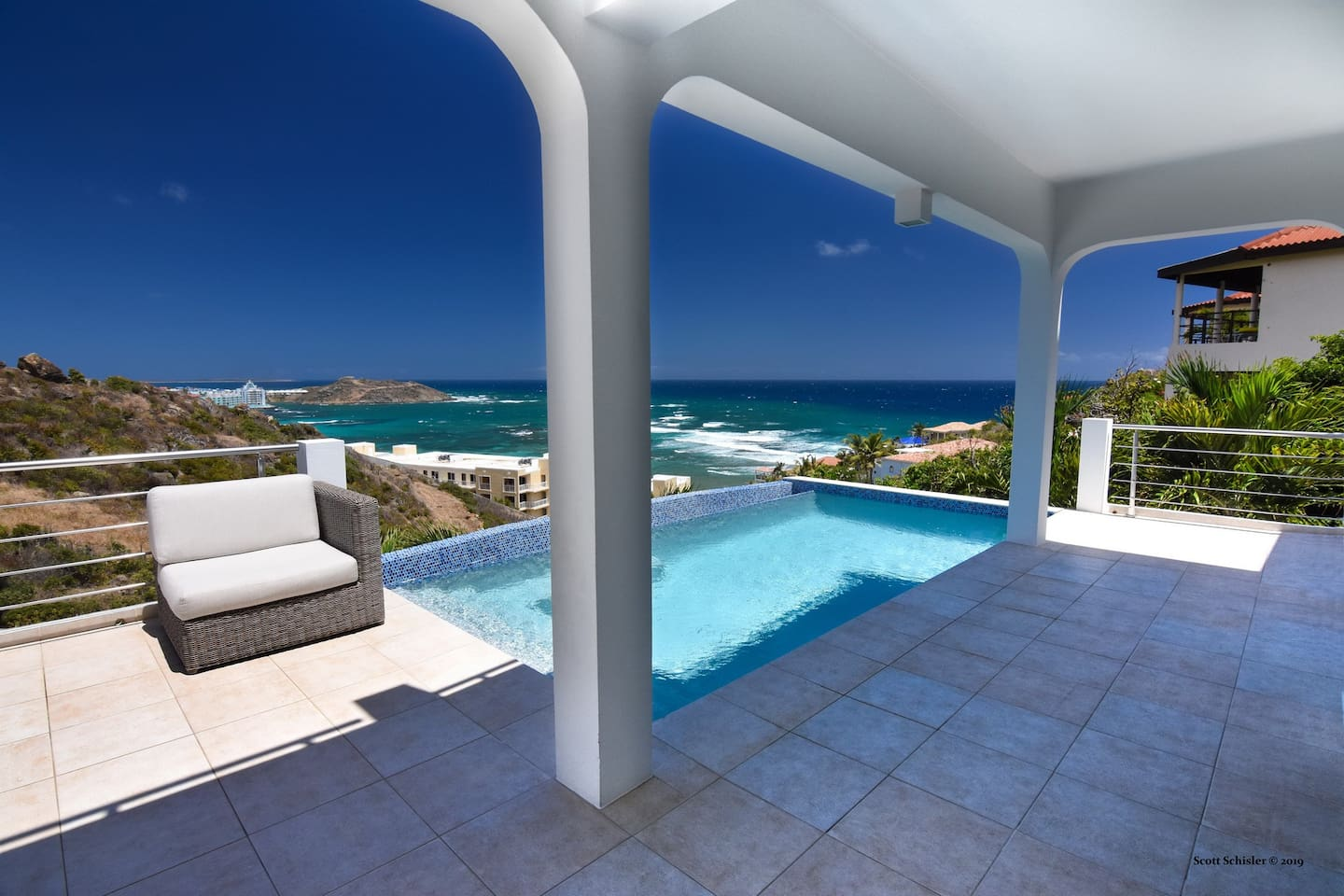 Pool Side with gorgeous ocean views
