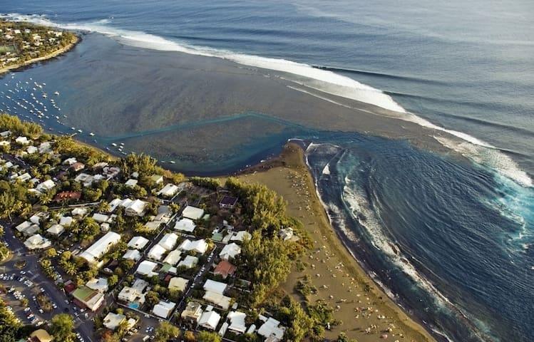 Maison de vacances à 100 m de la plage - l'Étang-Salé les Bains - Casa