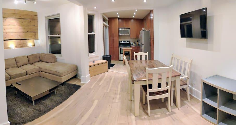 Appartement Plateau-Mont-Royal, 2 chambres fermées
