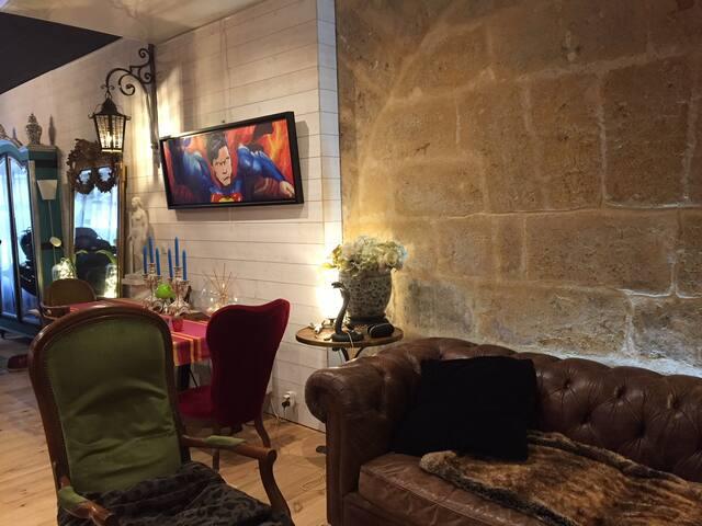 L'atelier Minvielle, 65 m2 aux Chartrons