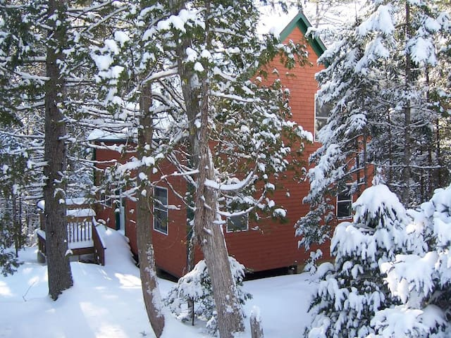 A Winter Wonderland Cabin in Acadia - Mount Desert - Casa