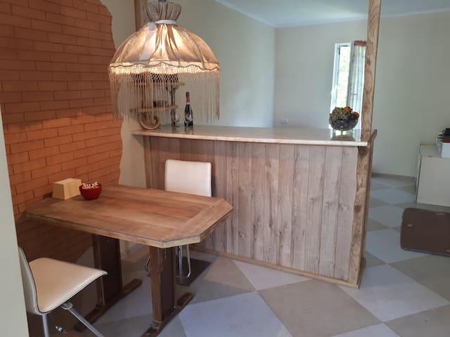 Tiny house with Georgian hospitality