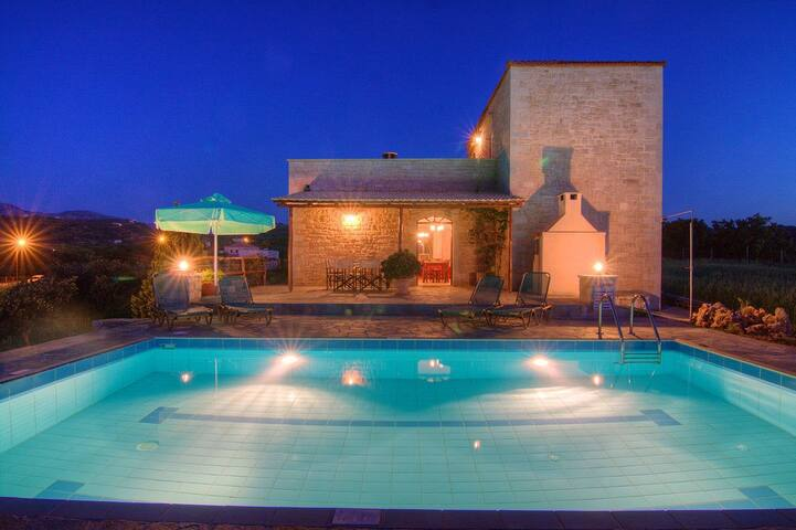 Forest Villas in Crete, near the beach -Ellotia - Atsipopoulo - Villa