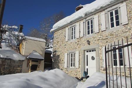 Agréable Maison de Montagne - Poubeau - Hus