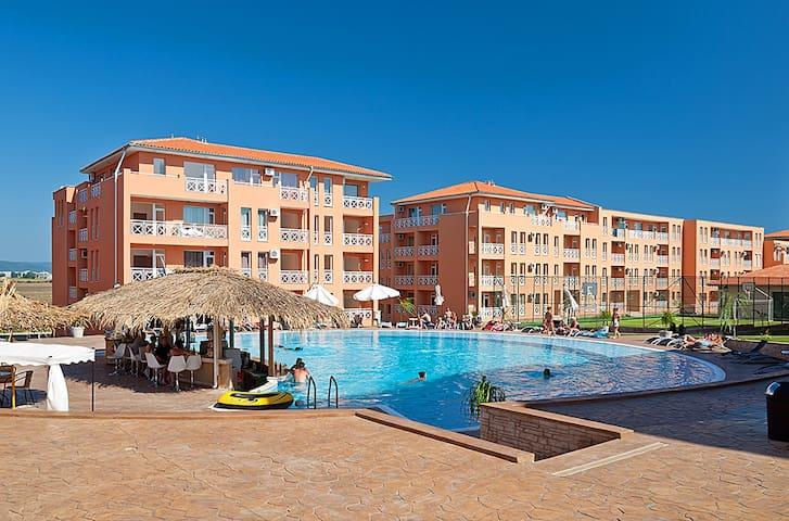 1-bedroom apartment near Sunny Beach and Nessebar