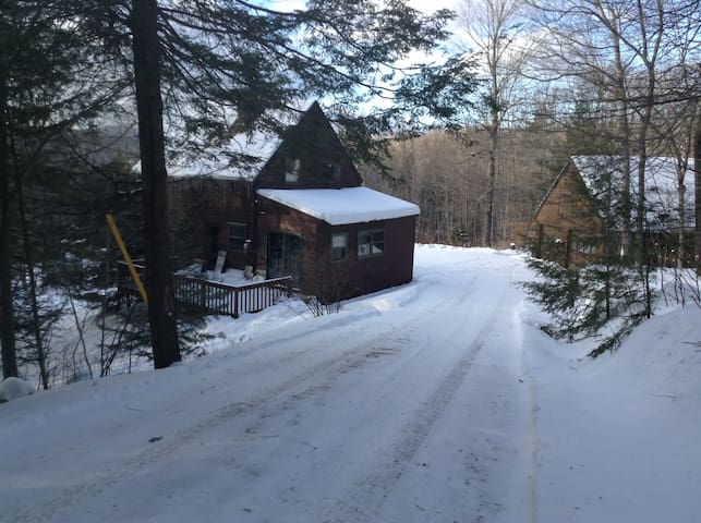 Secluded Vermont Ski Getaway