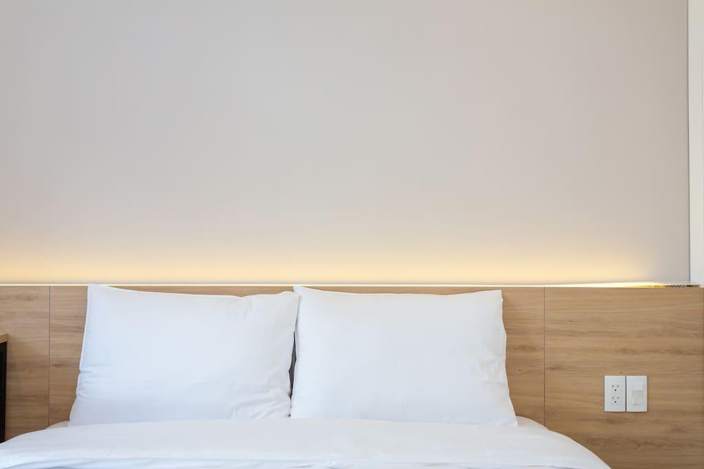 Comfortable Dunlopillo pillows