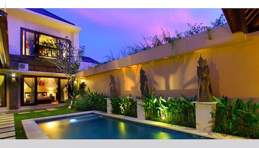 Private villa with private pool near GWK
