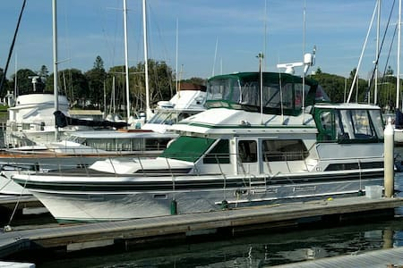 50ft Spacious Yacht w/ A/C & view - Marina del Rey - Barca