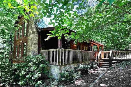 Peaceful cabin near Natl Prk - 2 rooms / 2nd floor - Ξυλόσπιτο