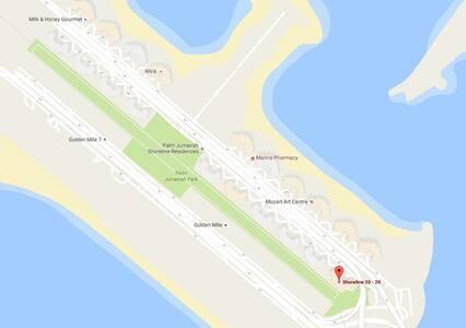 5* Elite 1Bed Shoreline ThePalm AK11 - Dubai - Huoneisto