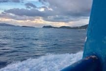 Your ferry ride to St John